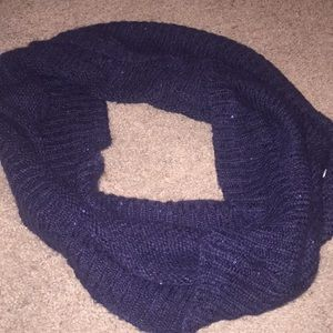 ❤️Navy Blue with Sparkle H&M Scarf